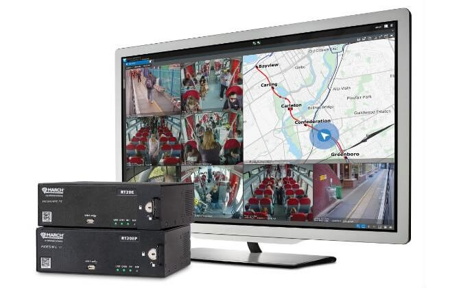 March Networks introduces HD Video recording and management solution for passenger rail fleets