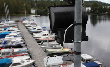 Milestone XProtect  provides Finnish schools and harbor with full-range protection