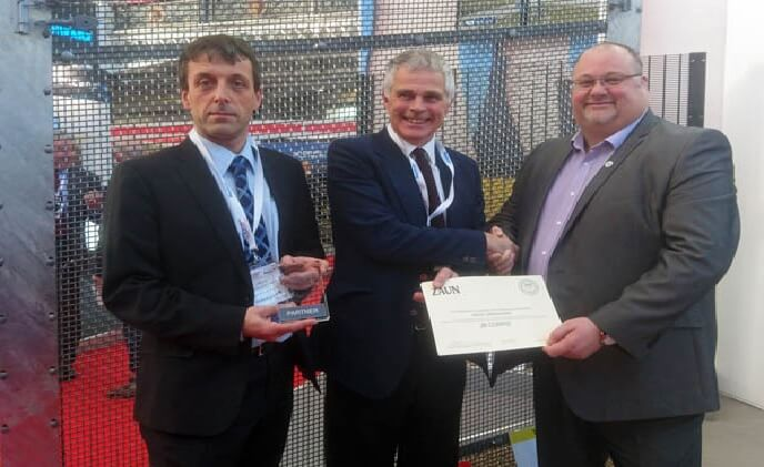 JB Corrie accreditation means four approved to install Zaun ArmaWeave