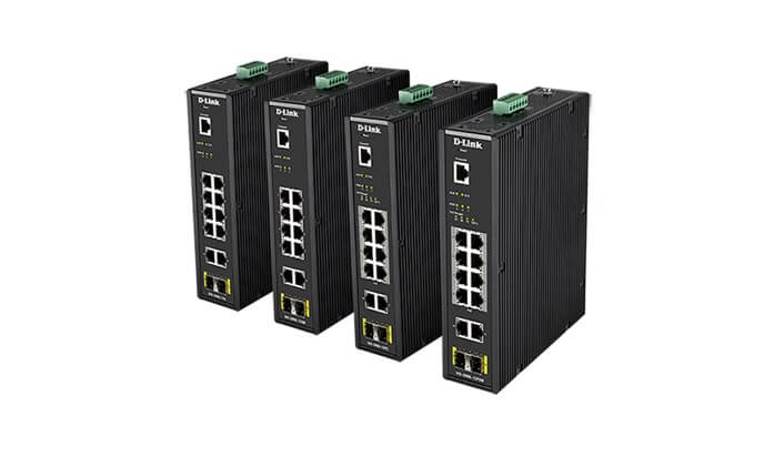 D-Link introduces new industrial Ethernet switches
