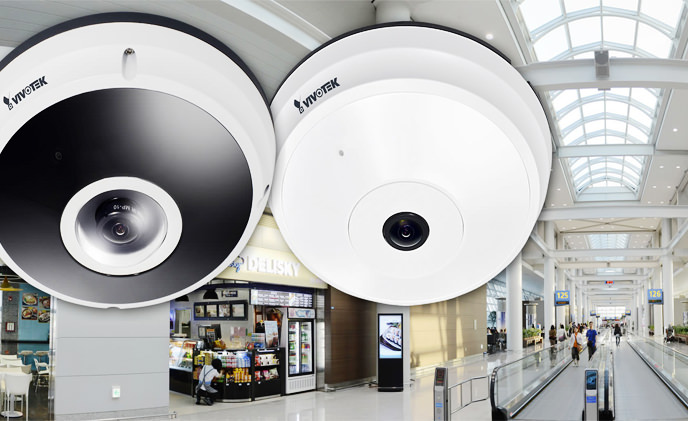 VIVOTEK unveils two ultra-megapixel fisheye network cameras - FE8191 and FE8391-V