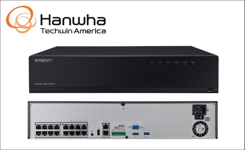 Hanwha Announces New Wisenet WAVE PoE NVRs and WAVE 4.1