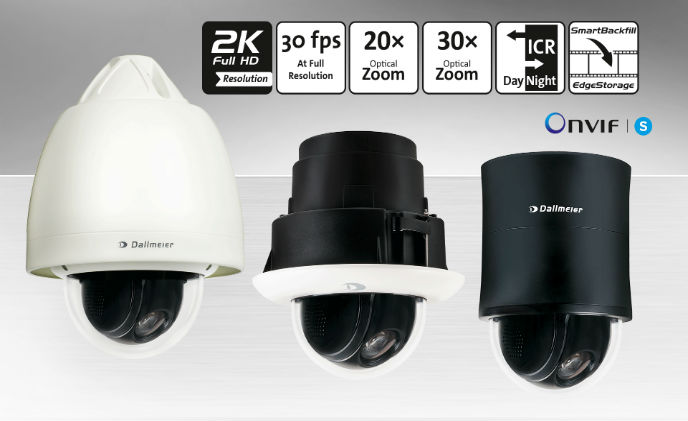 Dallmeier launches new high-speed PTZ cameras