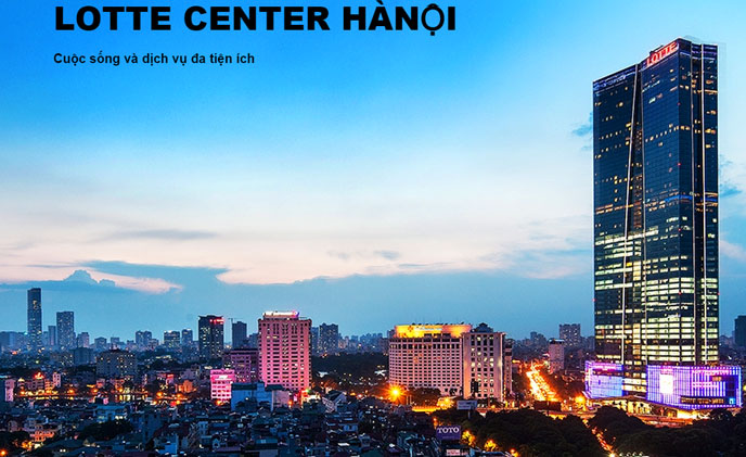 Bosch security solution for Lotte Center, Ha Noi, Vietnam