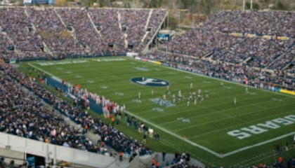 US university secures football field with thermal cams