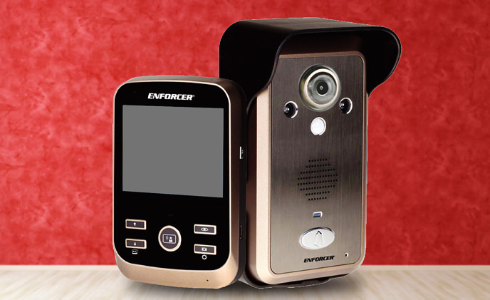 [Video] Product Review: ENFORCER Wireless Video Door Phone, the professional protection for your family