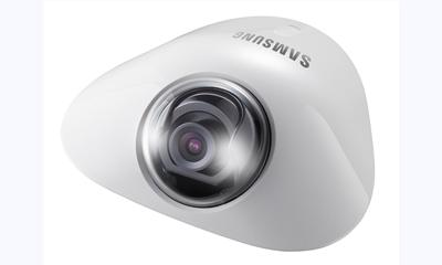 Samsung Techwin launches 1.3-MP, compact, flat network dome