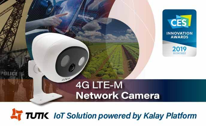 ThroughTek joins hands with LOCT to unveil the 4G LTE-M IP Camera at CES