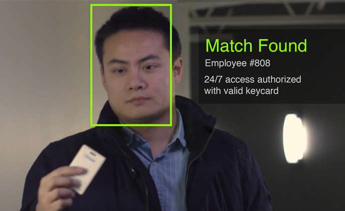Using face recognition for two-factor authentication