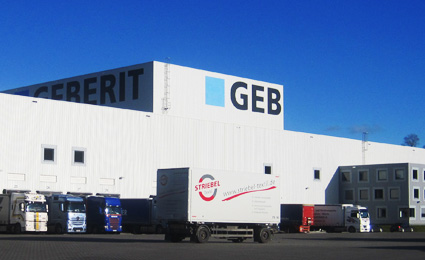 Nedap helps Geberit to optimise freight registration