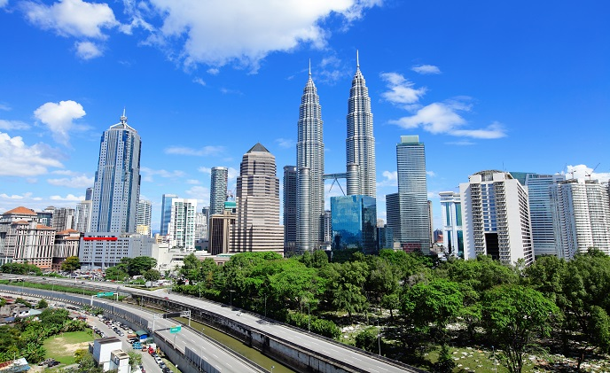 What vertical markets are booming in Malaysia?