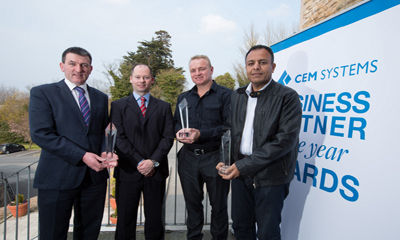 Tyco Security/CEM announces business partners of the year for EMEA
