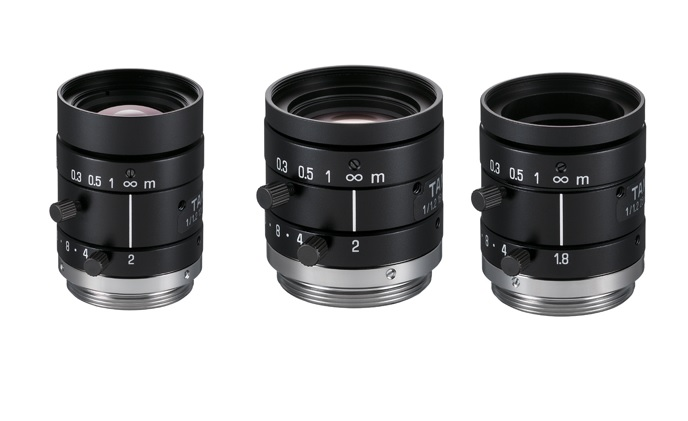 Tamron announces the launch of fixed-focal lenses for machine vision use