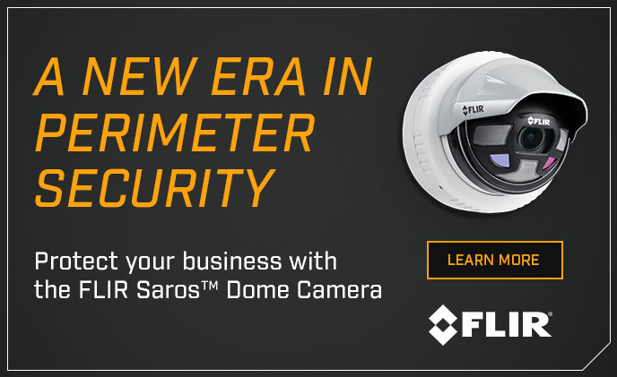 Introducing Saros, FLIR's next-generation outdoor perimeter security camera line