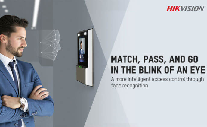 Hikvision launches face recognition terminals