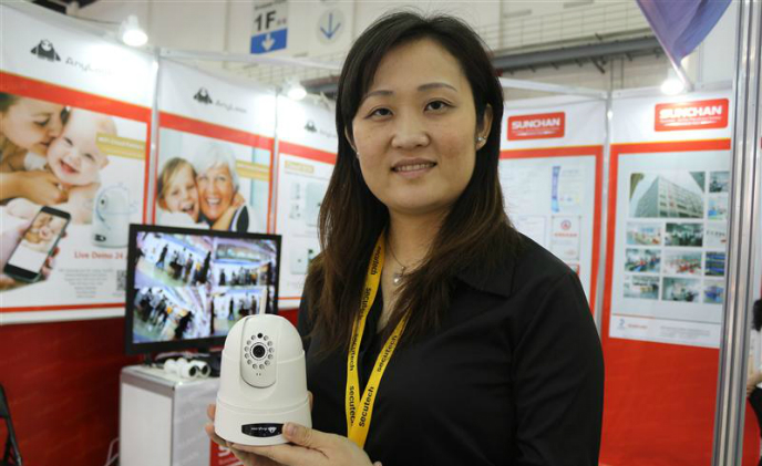 Sunchan Wi-Fi camera grants easy access to cloud services