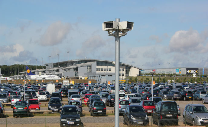 Dallmeier cameras watch over Danish airport
