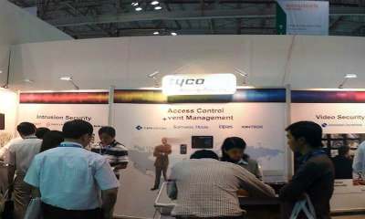 Tyco Security Products demonstrated innovation at Secutech Vietnam 2012