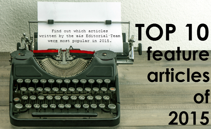 Top 10 feature articles of 2015