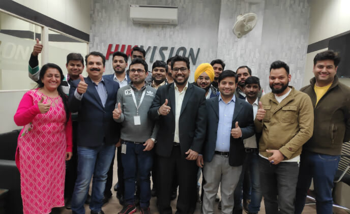 Hikvision Certified Security Associate program succeeds in New Delhi