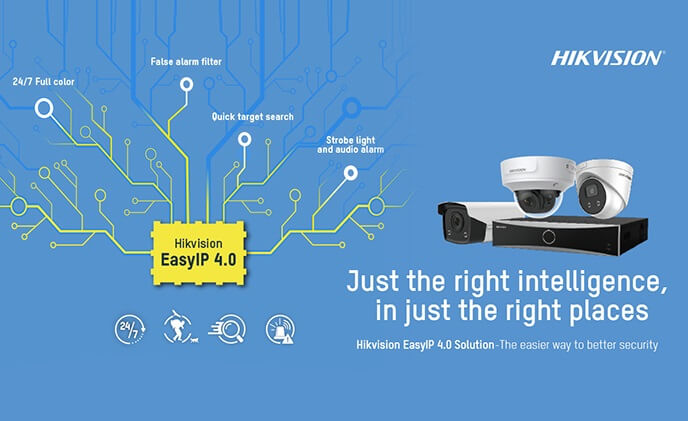 Hikvision launches EasyIP 4.0 cameras, NVRs to help SMBs