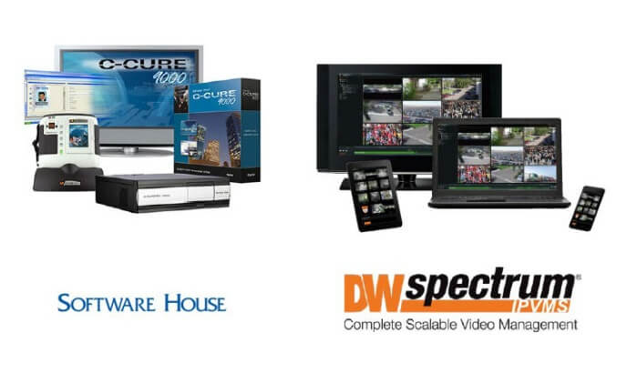 Digital Watchdog announces DW Spectrum IPVMS integration with Software House C•CURE 9000