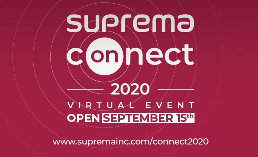 Suprema announces its first virtual event, Suprema Connect 2020