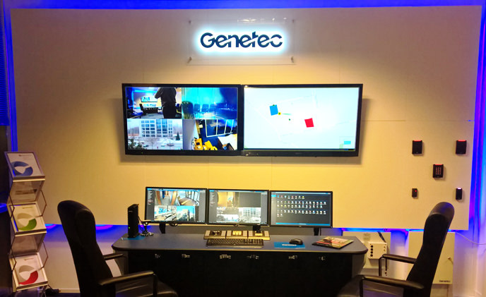 Winsted equips state-of-the-art demonstration room at Genetec