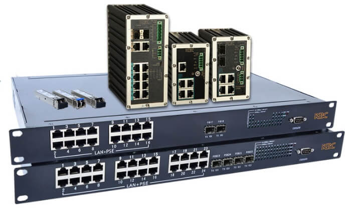 KBC expands Ethernet switch range