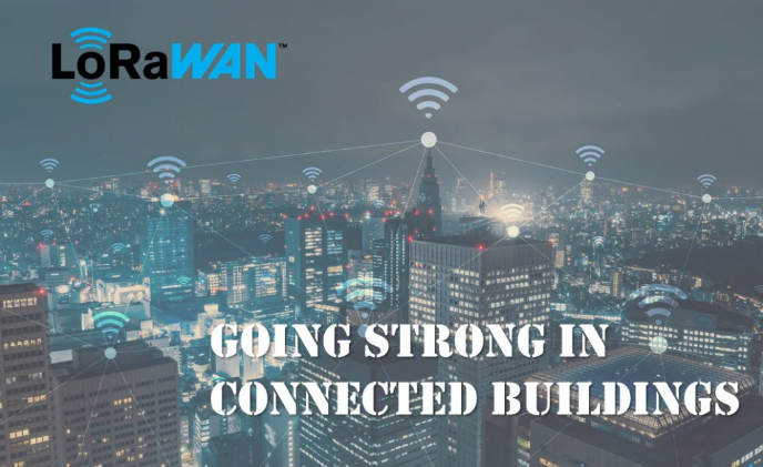 LoRaWAN going strong in connected buildings from simplicity and cost aspects
