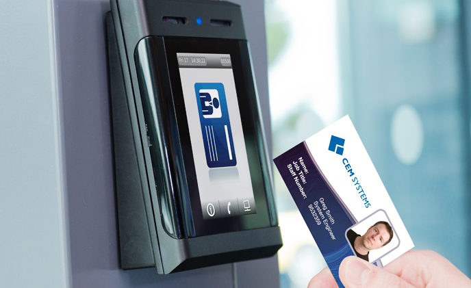 Badge Access Door : Cem systems innovation in access control asmag