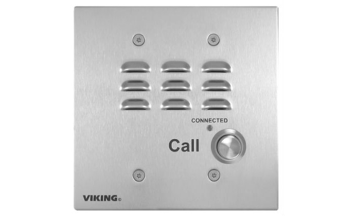 The Rugged E-32 Double Gang Call Box by Viking Electronics