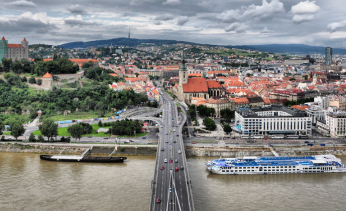VDG Security secures Bratislava during Slovakia
