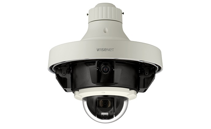 Hanwha Techwin introduces Wisenet P multi-directional & PTZ camera