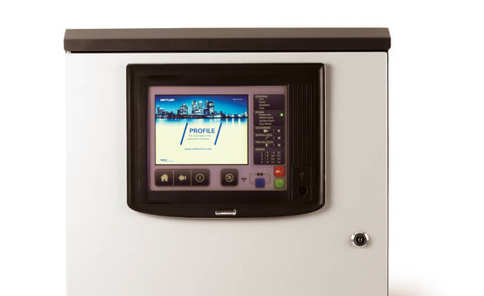 Tyco's next-generation fire control panel enhances safety with advanced usability options