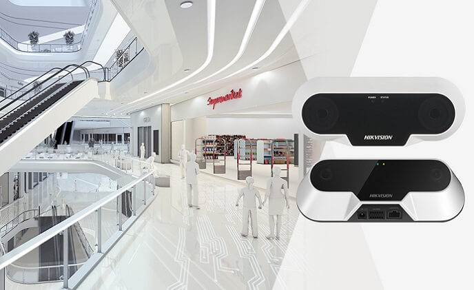 Hikvision's deep learning technology in smart retail solution