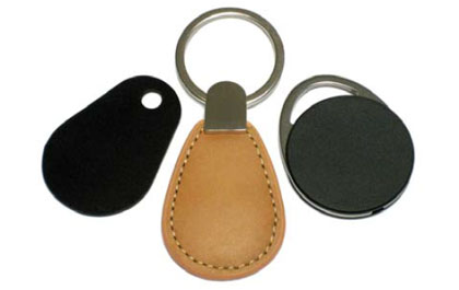 ZeitControl first RFID key fob with integrated microprocessor