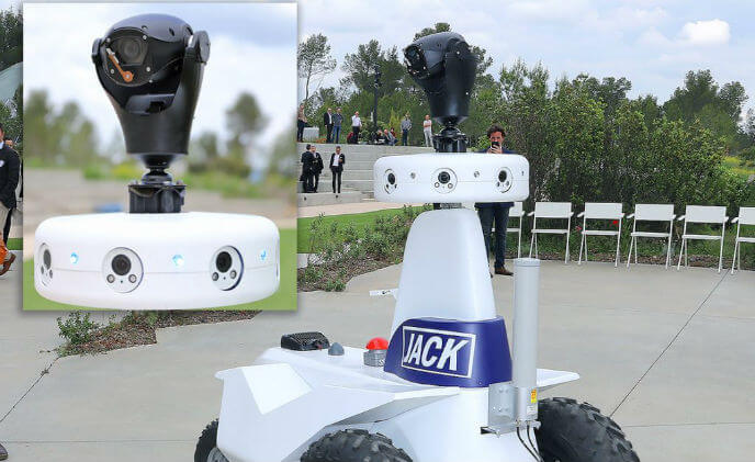 360 Vision's Invictus onboard robot Jack debut at EuroSatory
