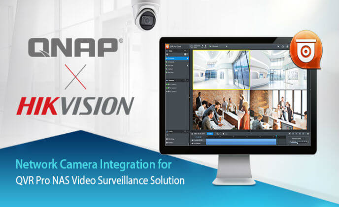 QNAP integrates with Hikvision H.265 network cameras