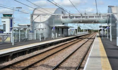 UK rail station grows security infrastructure with adjacent airport