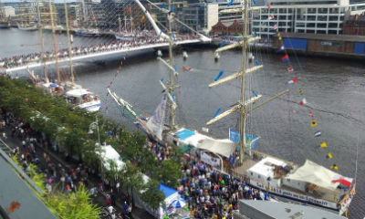 Samsung Techwin and Wired-Up cruise to success at Dublin festival
