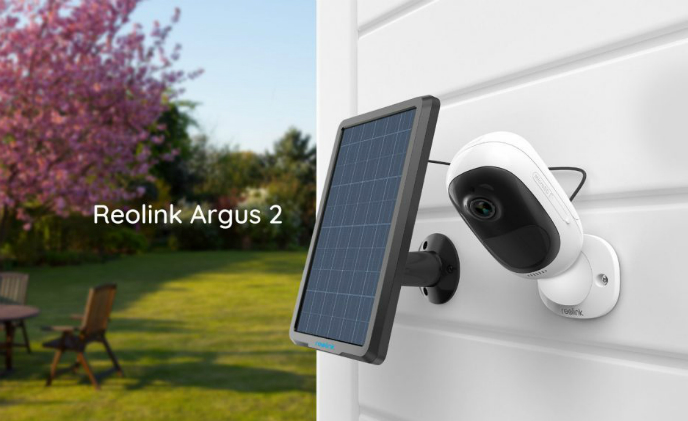Reolink launches Argus 2 camera and solar panel for power