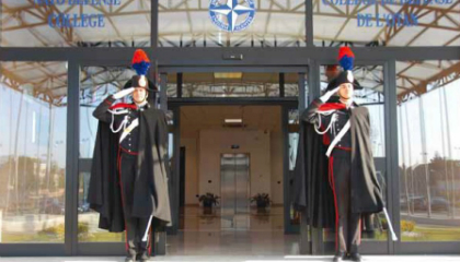 NATO Defense College in Italy enlists IP sentries