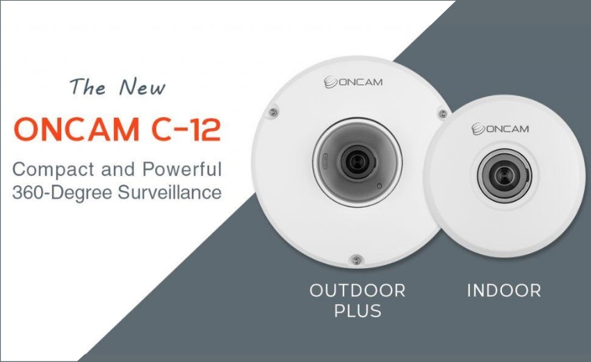 Oncam introduces C-Series, a compact and powerful 360-degree camera line