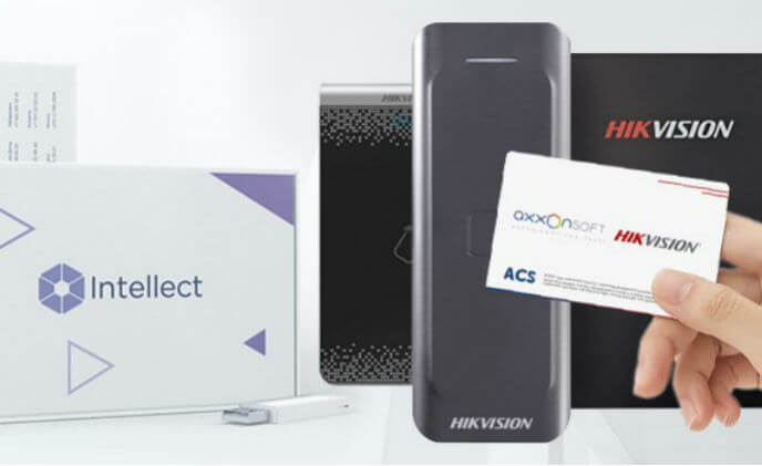 Axxon Intellect PSIM now supports new Hikvision ACS products