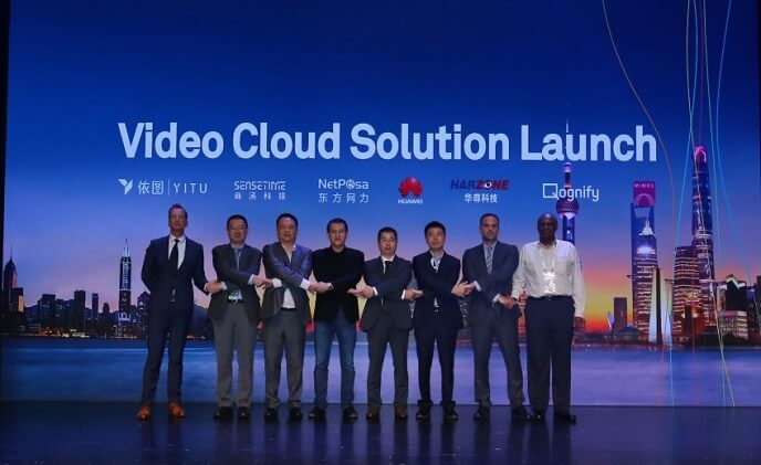 Huawei launches the first all-cloud, network-wide smart video cloud solution