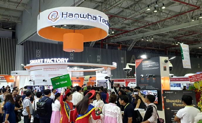 Hanwha Techwin showcases smart city, factory and retail solutions at Secutech Vietnam 2019