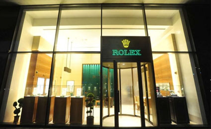 Avigilon safeguards Rolex boutique with HD video surveillance