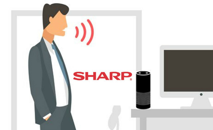Sharp becomes first MFP provider working with Alexa for business to enhance technology in the workplace