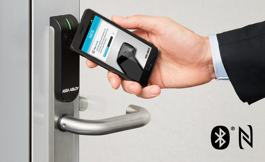 Mobile access with Aperio wireless locks